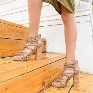 Mi.iM | Clara Hand-Knotted Strappy Heels
